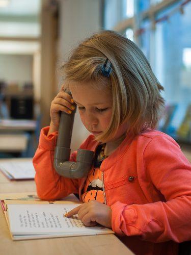 Phoebe fluistertelefoon